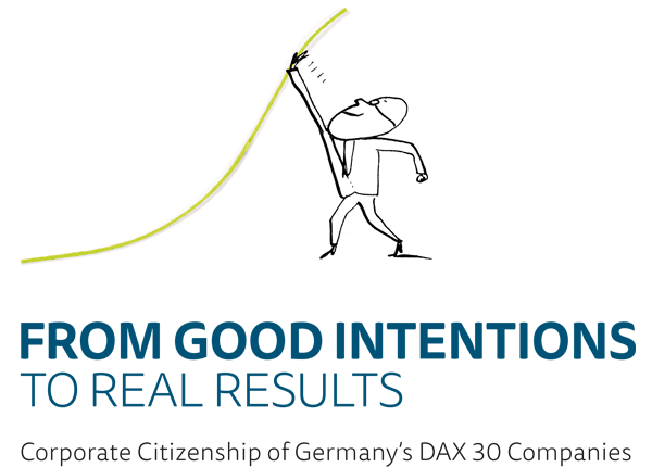 Titelbild zur Studie Corporate Citizenship - From Good Intentions to Real Results