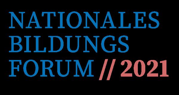Logo Nationales Bildungsforum 2021